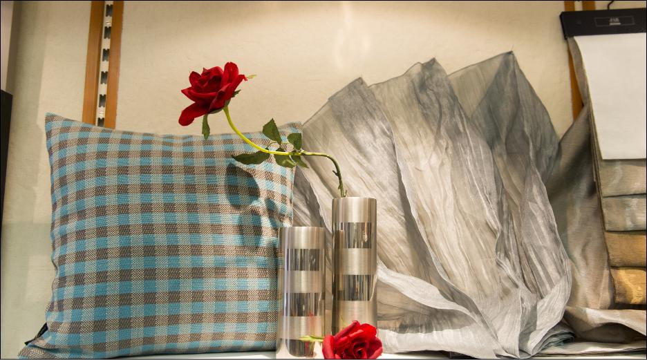 Tischdecken, Kissen